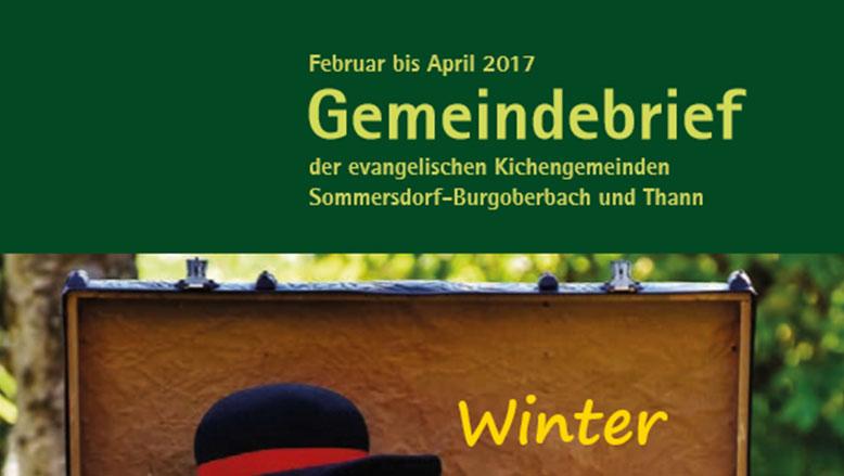 Gemeindebrief Februar – April 2017