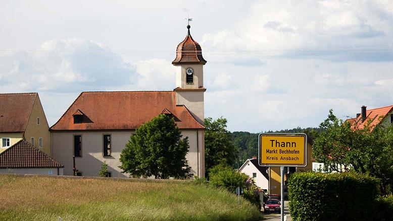 Thann: Kirchenweihe 1766